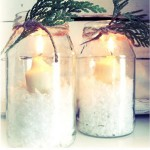 Simple Winter Candles