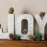 Glittery Joy Letters