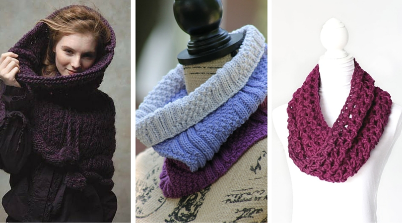 Cowl Us Crazy 12 Knit And Crochet Patterns Favecrafts