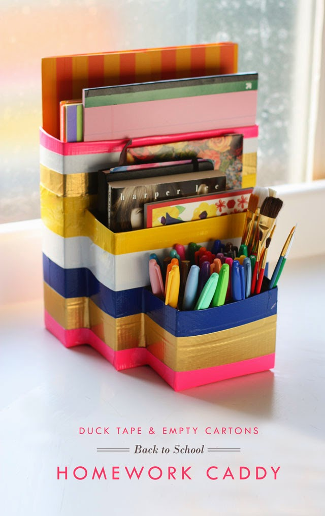 Duck Tape School Caddy 640 Favecrafts