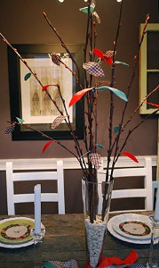 Thanksgiving Twig Centerpiece