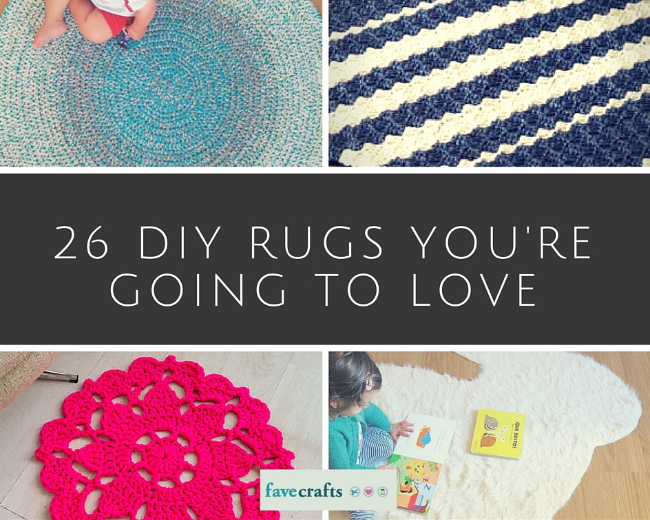 26 DIY Rugs You're Going to Love