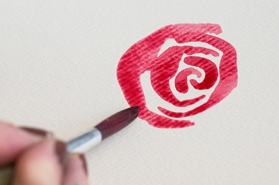 How to Paint Watercolor Roses 4