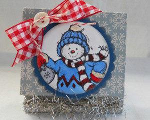 Post It Note Snowman Craft
