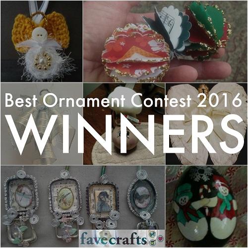 Best Ornament Contest 2016 Winners