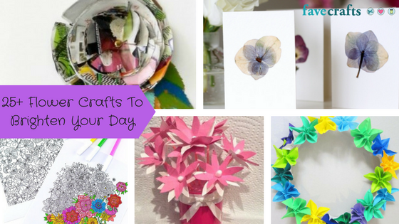 25+ Flower Crafts To Brighten Your Day