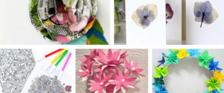 25+ Flower Crafts To Brighten Your Day