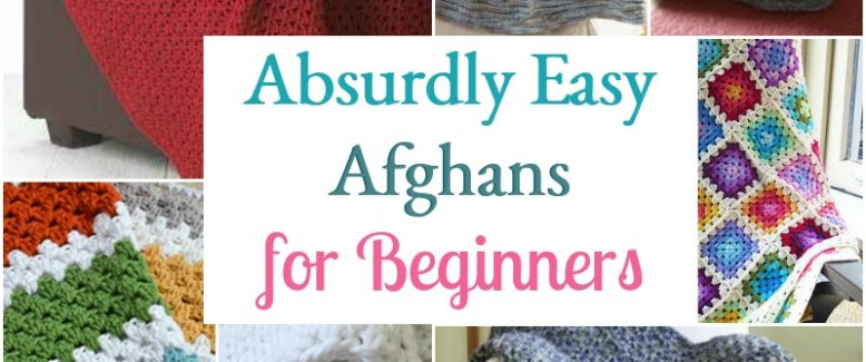 7 Absurdly Easy Afghans for Beginners