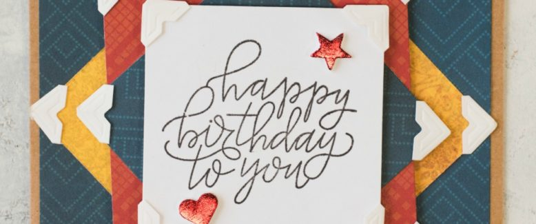 Happy Birthday to You! Card Make n' Take with Scrapbook Adhesives by 3L