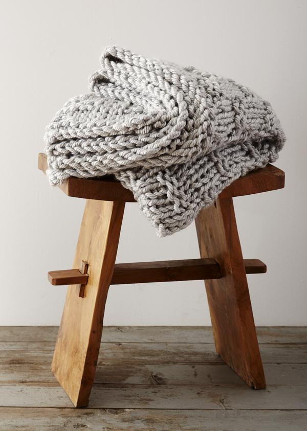 Extra Chunky Gratitude Blanket
