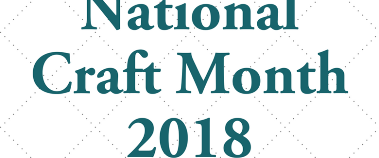 National Craft Month 2018: a new tutorial every day in March!
