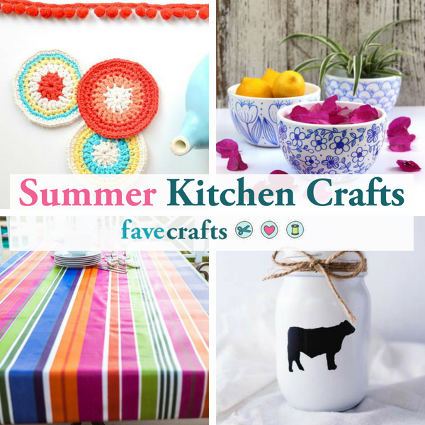 Summer Kitchen Crafts