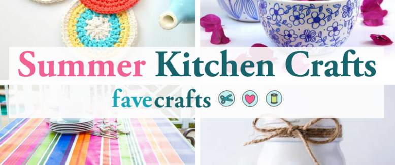 19 Summer Kitchen Crafts