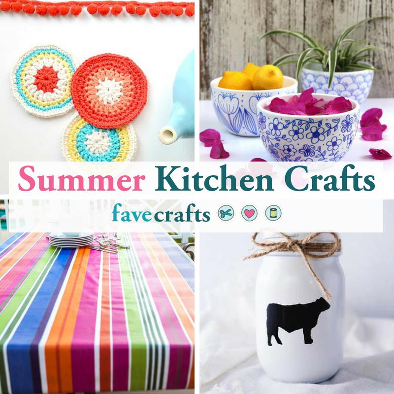 19 Summer Kitchen Crafts Favecrafts
