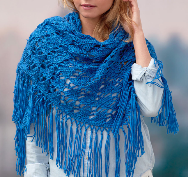 Boho Crochet Wrap Pattern